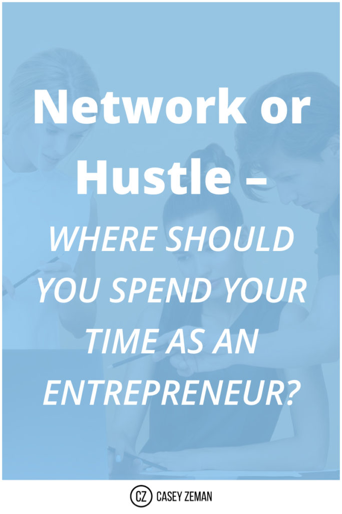 Network Or Hustle – Where Do You Spend Your Time?.001