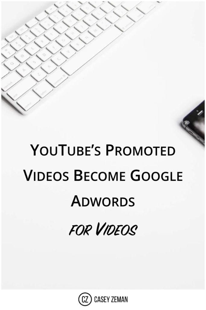 YouTube's Promoted Videos Become Google Adwords for Videos.001