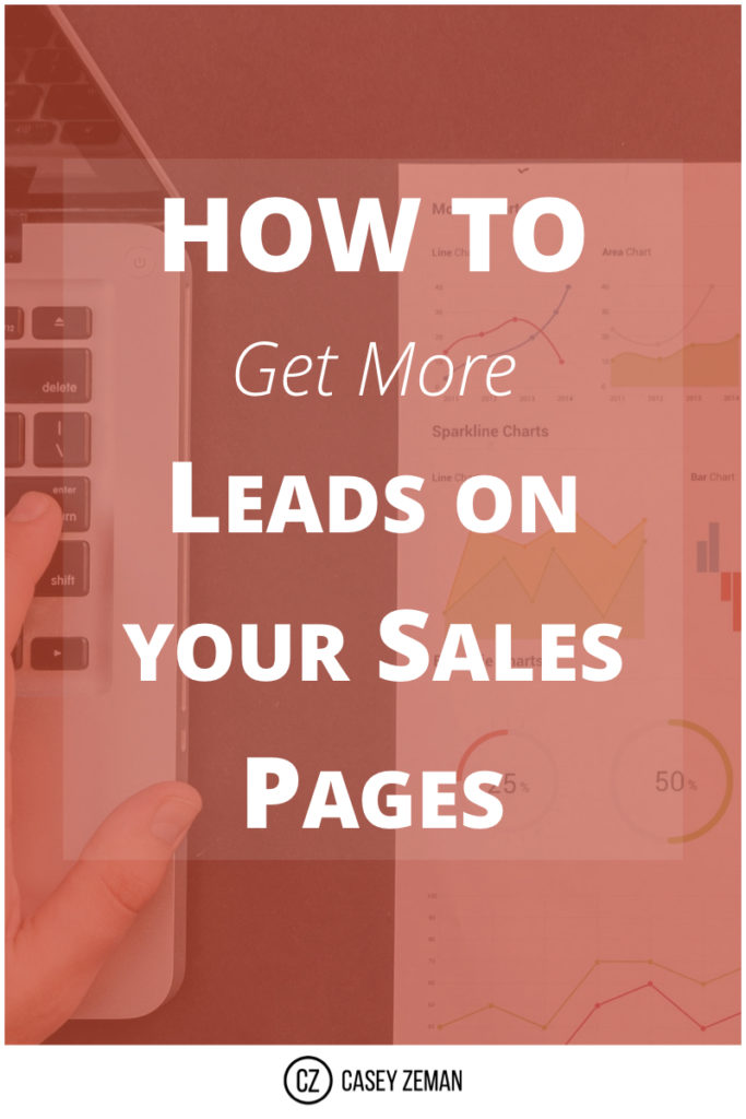How to get more leads on your sales pages.001