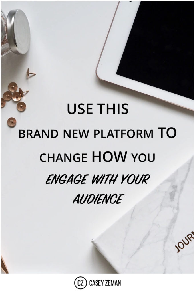 Here is a powerful platform that changes the way you engage with your audience.001