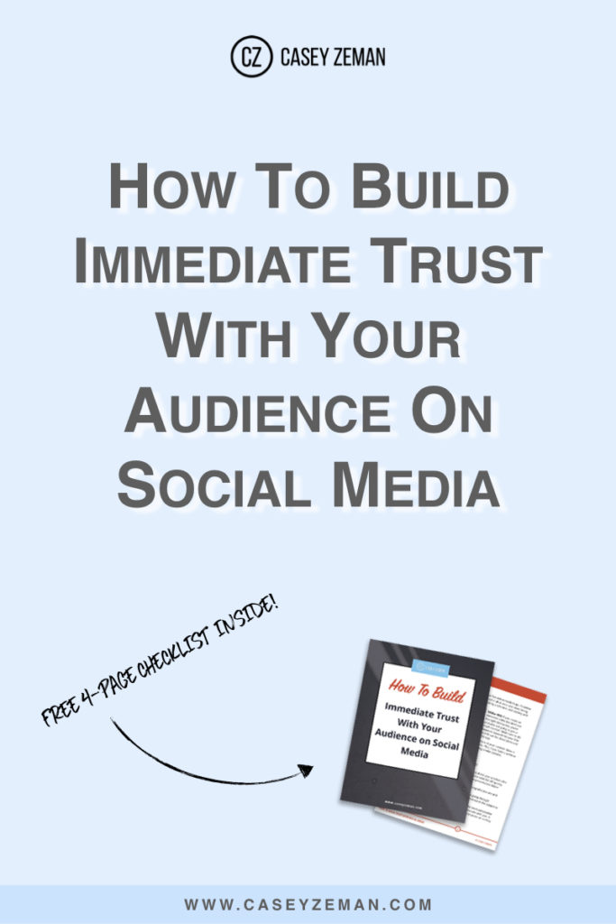 How To Build Immediate Trust With Social Media.001