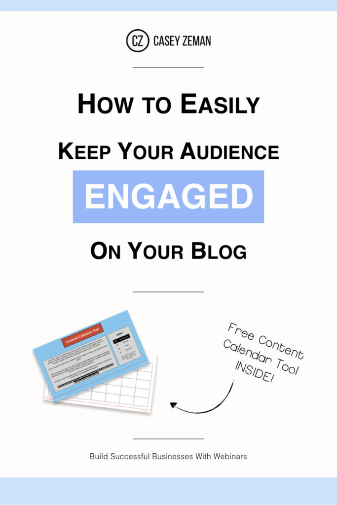 How to Easily Keep Your Audience Engaged .001