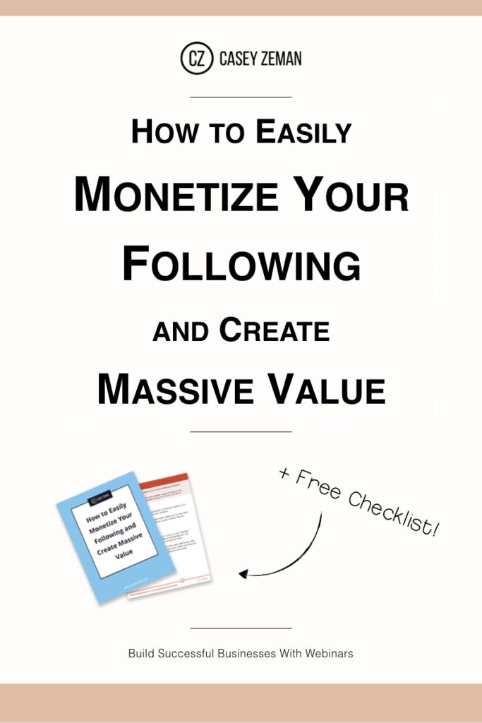 How to Easily Monetize Your Following and Create Massive Value.001
